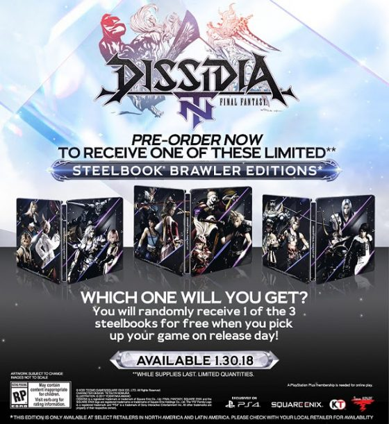 dissidia-1-560x355 Highly Anticipated Title DISSIDIA FINAL FANTASY NT Arrives Jan. 30!