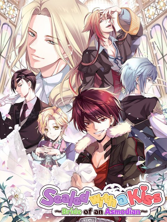 """f9a724a42cf27e585b95ed7a513c6d70-560x747 Otome Game """"Sealed with a Kiss ~Bride of an Asmodian~"""" To Be Released Soon! Event Details Inside!"""