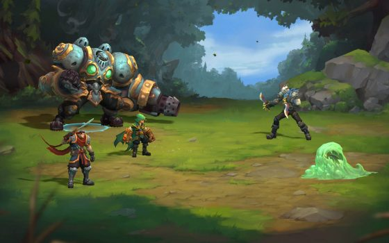 battlechasers-560x315 Battle Chasers: Nightwar introduces Alumon, the Devil Hunter in new animated short!