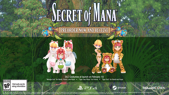 secretofmana-560x398 Secret of Mana Remade With Modern Visuals and Sound! Details Inside!