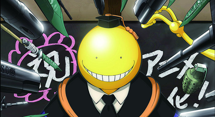 Korosensei-Ansatsu-Kyoushitsu-Assassination-Classroom-wallpaper Top 10 Manga Teachers