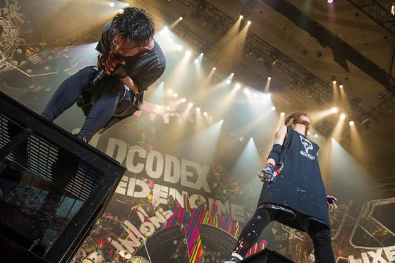 "OCD170114-01083 OLDCODEX Live Blu-ray ""FIXED ENGINE"" 2017 in BUDOKAN Review"
