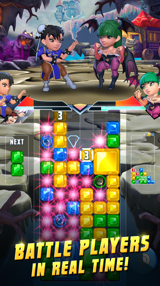 PuzzleFighterLogo-560x280 Capcom Announces All New Puzzle Fighter for iPhone, iPad and Android Devices