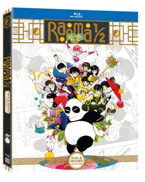 New RANMA1/2 Anime OVA & Movie Home Media Collection Debuts From VIZ Media