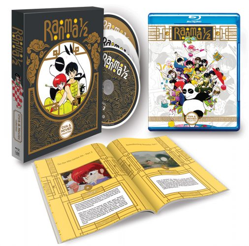 Ranma-OVAMovies-Blu-ray-BeautyShot-506x500 New RANMA1/2 Anime OVA & Movie Home Media Collection Debuts From VIZ Media