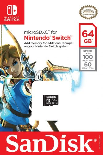 San128-333x500 Nintendo Partners with Western Digital to Create Licensed Nintendo Switch SanDisk Memory Cards