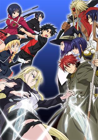 UQholdercapture Sentai Filmworks Licenses 'UQ HOLDER!'
