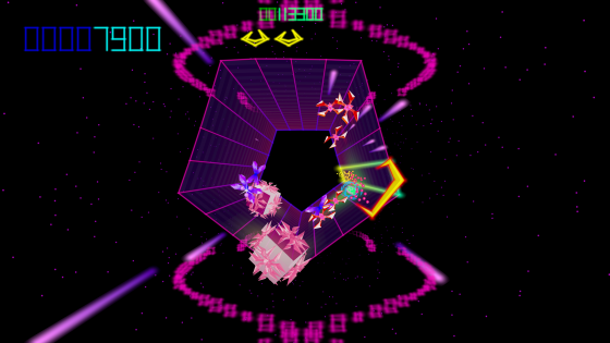 tempest4000-560x195 Atari Releases World Premier Footage and Screenshots for Long-Awaited Arcade Shooter Revival Tempest 4000