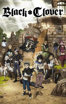 Black-Clover-crunchyroll-225x350 [Shounen Fall 2017] Like Naruto? Watch This!