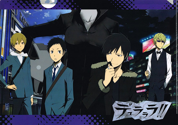 Durarara-wallpaper Top 5 Anime by Sloan The Female Otaku (Honey's Anime Writer)