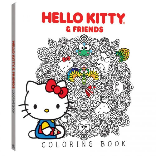 HelloKitty-ColoringBook-3D-VIZ-500x500 VIZ Media Releases New HELLO KITTY & FRIENDS COLORING BOOK