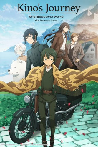 "Kino-no-Tabi-The-Beautiful-World-crunchyroll-333x500 Kino's Journey - Beautiful World - The Animated Series Review - ""Someone once told me that when you see the birds flying through the air, it makes them want to go on a journey. """