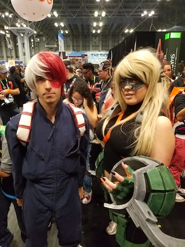 Would Any Convention Be A Without Cosplay In Some Shape Or Form Probably Not New York Comic Con Has Tons Of And We Saw Various