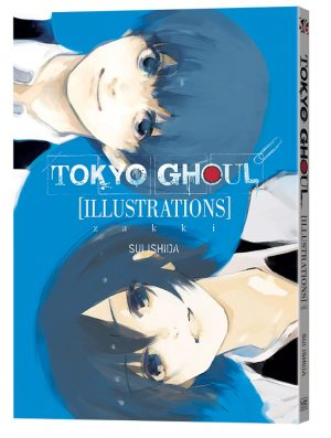 New TOKYO GHOUL ILLUSTRATIONS: ZAKKI Art Book Arrives From VIZ Media