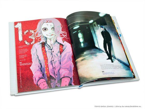 Tokyo-Ghoul-illustration-capture-2-378x500 New TOKYO GHOUL ILLUSTRATIONS: ZAKKI Art Book Arrives From VIZ Media