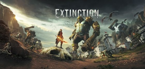 extinction-capture-logo-560x269 Massive Armored Ogres Invade in New Extinction Gameplay Trailer
