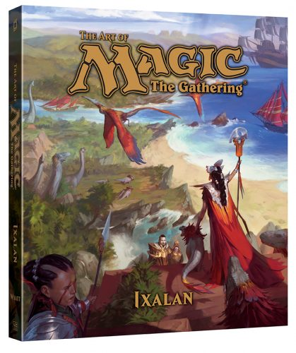 ArtOfMagicTheGathering_Ixalan_3D-419x500 THE ART OF MAGIC: THE GATHERING - IXALAN Announced By VIZ Media