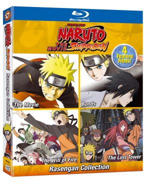 Unboxing Naruto Shippuden: The Movie - Rasengan Collection