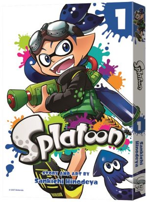 VIZ Media Launches Nintendo Gaming-Inspired SPLATOON Manga Series