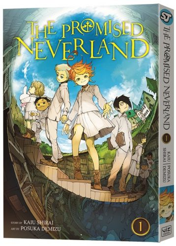 promised-neverland-capture-1-358x500 VIZ Media Debuts TWO New Manga Series - ASTRA LOST IN SPACE & THE PROMISED NEVERLAND