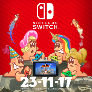 Worms W.M.D coming to Switch November 23rd!