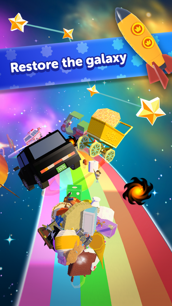 Amazing-Katamari-capture-560x656 AMAZING KATAMARI DAMACY is Now Available on iOS And Android Devices