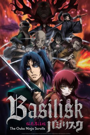 Basilisk: Ouka Ninpouchou Reveals Official 2nd Cours Key Visual