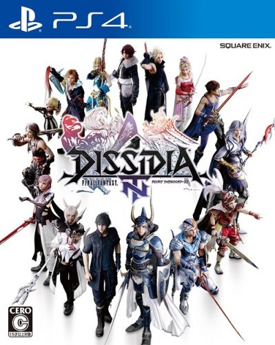 Dissidia-Final-Fantasy-NT-PS4-399x500 Weekly Game Ranking Chart [01/04/2018]