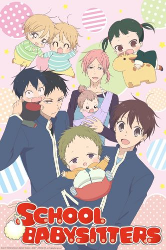 Gakuen-Babysitters-School-Babysitters-333x500 Bishounen & Fujoshi Anime - Winter 2018: Sword Boys, Babysitting Boys, Singing Boys, Spiritual Boys & More Boys!