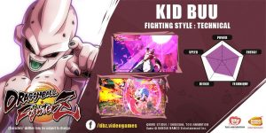Kid Buu Revealed for DRAGON BALL FighterZ!