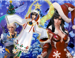 Square Enix Brings the Holiday Cheer with Winter-themed Mobile Updates and Giveaways