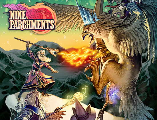 Nine-Parchments-logo Nine Parchments Out Now on Nintendo Switch and Windows