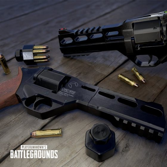 PUBG-R45-560x560 Confirmed! R45 Revolver Will Make its Way into PUBG's Desert Map!