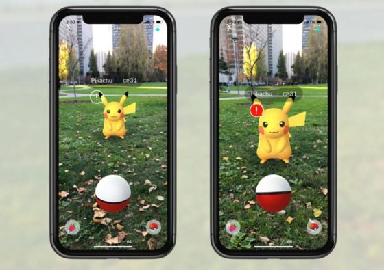 Pokemon-GO-capture-560x395 Pokémon GO Adds Next Evolution of AR with AR+ Mode
