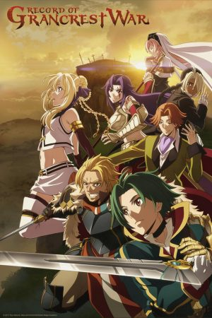Grancrest-Senki-Wallpaper-1-500x445 [Honey's Crush Wednesday] 4 Siluca Meletes Highlights – Grancrest Senki [Record of Grand Crest War]