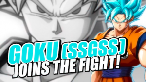 SSGSS GOKU Makes His Way Into DRAGON BALL FighterZ