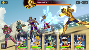 Saint Seiya Cosmo Fantasy Makes its Way to Mobile!