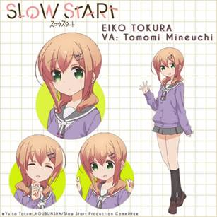 Slow-Start-Aniplex-capture-560x346 New Slice of Life Comedy, Slow Start, Launches on Crunchyroll in January 2018!!