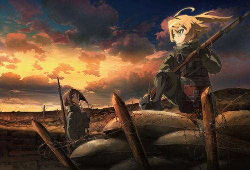 Youjo Senki Movie Reveals Epic First Key Visual