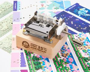 Kirby 25th Anniversary Paper-Tape Music Box Available for Pre-Order!