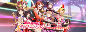 """BanG Dream! Girls Band Party!"" Scheduled for Spring 2018 Worldwide Release on iOS & Android!"