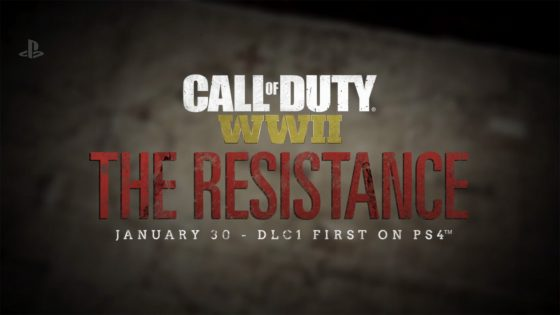 COD-WWII-560x294 First Call of Duty: WWII DLC Pack The Resistance Emerges!
