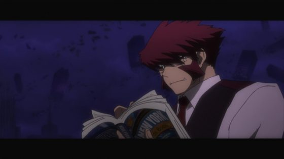 """Kekkai-Sensen-Blood-Blocakde-Battlefront-crunchyroll-6 Kekkai Sensen & Beyond (Blood Blockade Battlefront & Beyond) Review - """"Hello, Michella. These are my friends."""""""