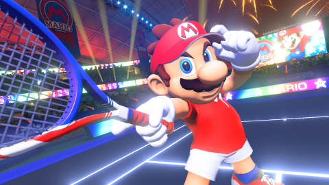 Mario-Tennis-Switch Serena Williams and Naomi Osaka Settle the Score in....Mario Tennis?!
