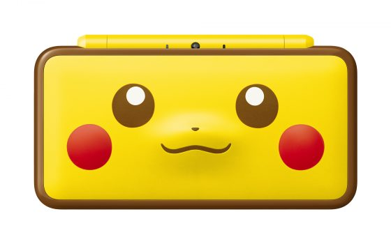New2DSXL_Pikachu_front-560x350 New Nintendo 2DS XL Pikachu Edition Arrives Jan. 26!