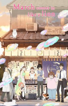 Sangatsu-no-Lion-3-gatsu-March-Comes-in-Like-a-Lion-225x350 Sangatsu no Lion 2da temporada ¡revela un nuevo video promocional largo!