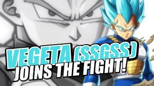 SSGSS Vegeta Officially Blast His Way Into DRAGON BALL FighterZ