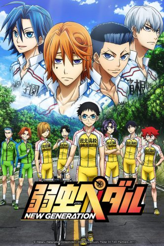 Yowamushi-pedal-Glory-Line-333x500 Comedy Anime - Winter 2018: 2nd Seasons Galore, Games, Monster Girls, Candy, Supernatural Powers, and Food!