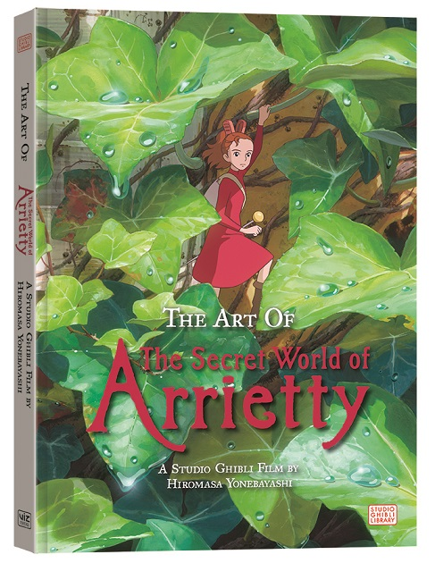 Art-Of-The-Secret-World-Of-Arrietty VIZ Media Celebrates Studio Ghibli With THE ART OF THE SECRET OF WORLD OF ARRIETY