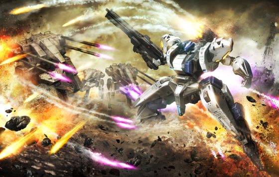 Assault-Gunners-1-560x355 ASSAULT GUNNERS HD EDITION Blasting its Way to PS4 and Steam March 20